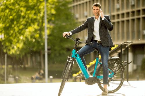 Le vélo électrique avec ABS de série