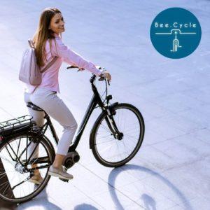 Location d'un vélo électrique à Bordeaux avec Bee.Cycle
