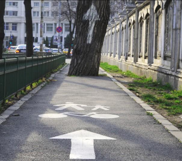 Piste cyclable à Bucarest, en Roumanie