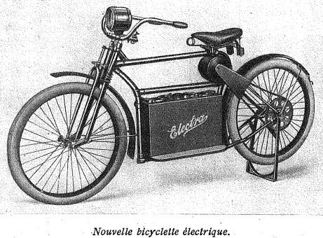 ancien vélo électrique