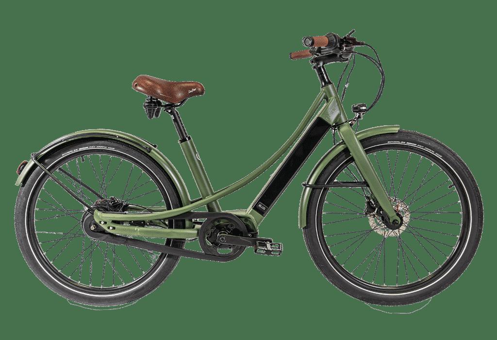 vélo électrique connecté Reine Bike